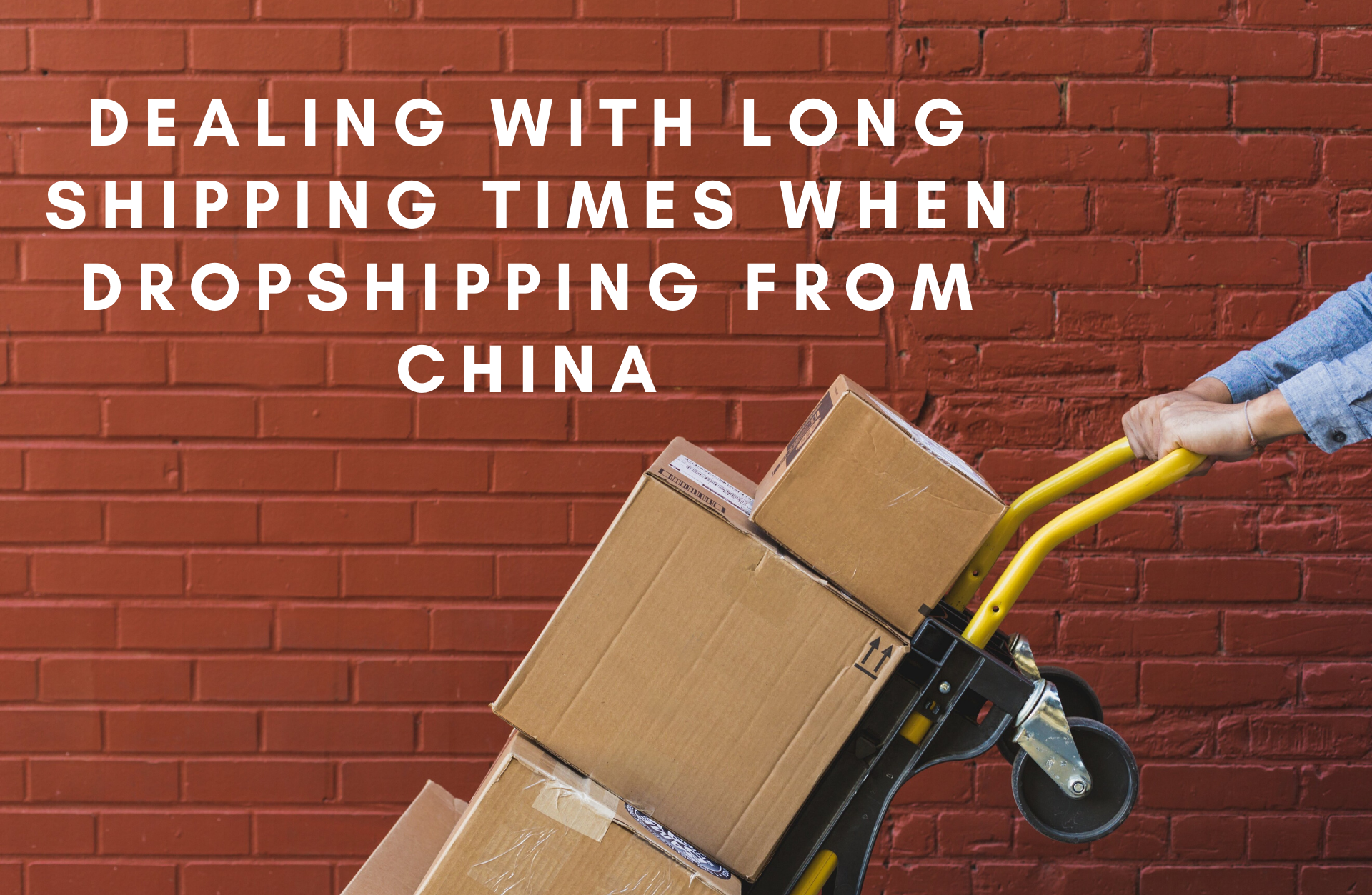 Dealing with long shipping times when dropshipping from china - ecomrecord