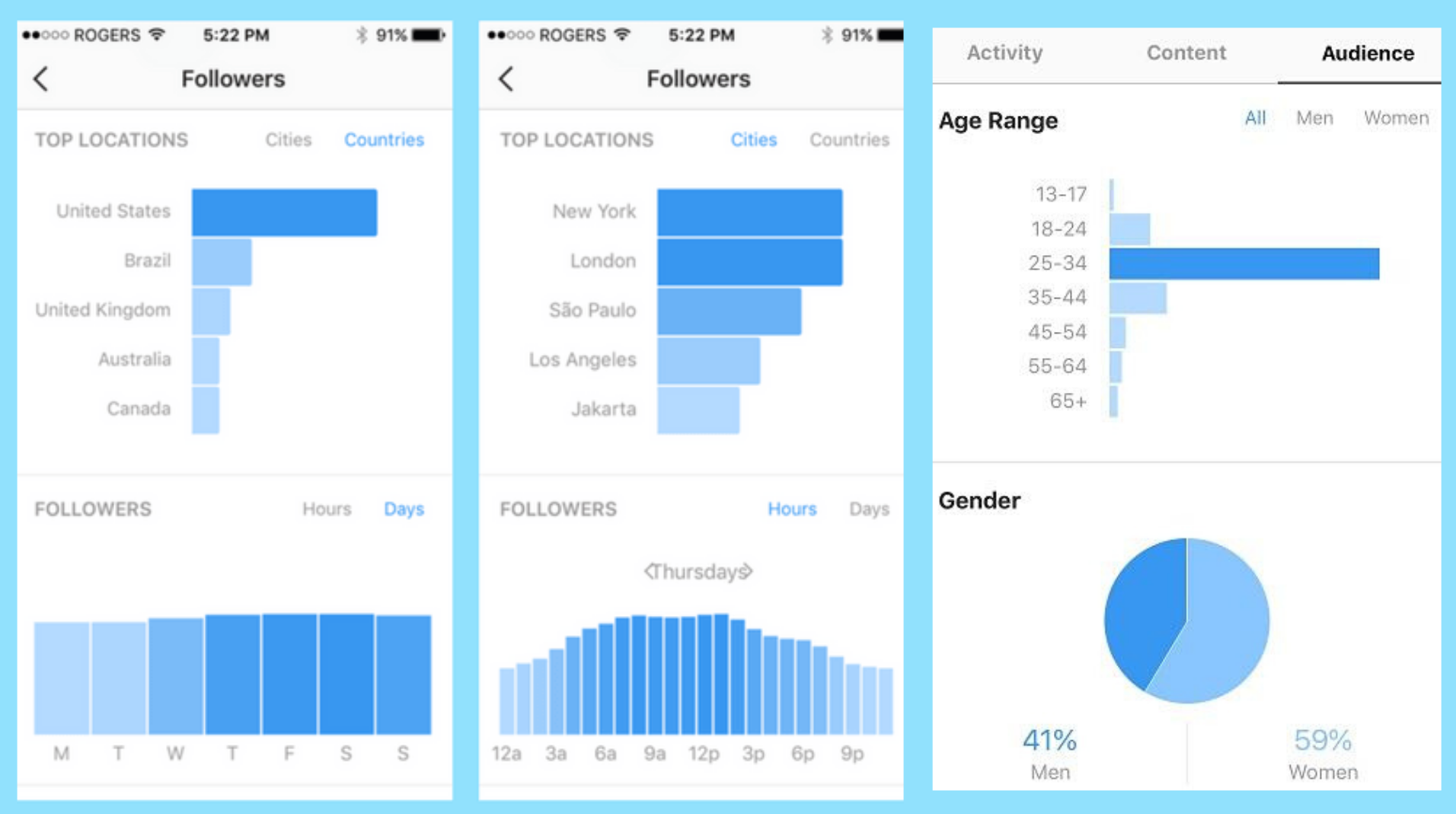 instagram infleuncer page analytics - ecomrecord